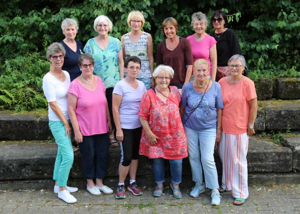 Fitnessgruppe Abteilung Turnen des TSV Zizishausen